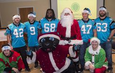 The annual Keep Pounding holiday party at Levine Children's Hospital