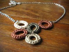 CUSTOM ORDER Crochet Abstract Hoop by sweetwilliamhandmade