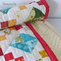Christmas Baby Quilt  baby first blanket  Stroller by Sheynale