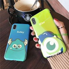 sulley and mike iPhone X Case (101)