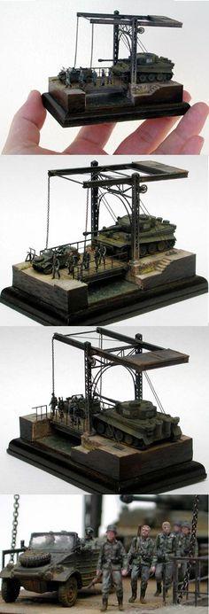 Iron bridge.scale 1/144- This detail is amazing!