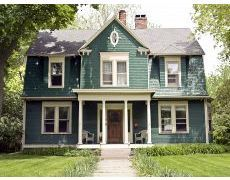 Folk Victorian refers to a style of American home that is relatively plain in its construction but embellished with decorative trim. Folk Victorians were built from plan books, provided by architectural companies and in circulation from the mid 1800s into the early 1900s. The books contained from a half dozen plans up to a hundred or more, with layouts drawn to scale and usually showing front and side elevations, but without the details of modern blueprints.