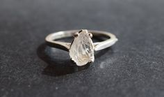 Hey, I found this really awesome Etsy listing at https://www.etsy.com/listing/207355861/raw-diamond-engagement-ring-rough