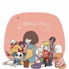 UnderChild! Papyrus, UnderChild! Muffet, Annoying Dog, UnderChild! Sans…