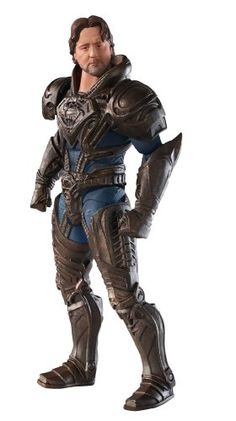 Jor-el movie action figure from Man of Steel