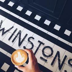 @winstonscoffee #latte #allpressespresso #hkig #igers #coffee #coffeegram #coffeeblogger #hkblogger  Coffee around the world. Follow me  Coffee Around The World, Around The Worlds, Latte, Floor, Explore, Interior, Pavement, Indoor, Boden