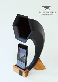 Passive speaker for iphone on Industrial Design Served