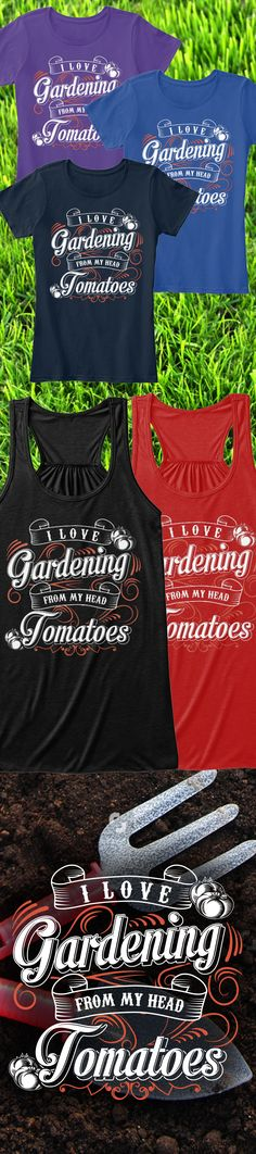 Love gardening?! Check out this awesome gardening t-shirt you will not find anywhere else. Not sold in stores and only 2 days left for free shipping! Grab yours or gift it to a friend, you will both love it 😘