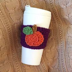 Pumpkin spice latte, psl, pumpkin spice, fall decor, fall fashion, coffee, coffee gift, teacher gift, latte, autumn   A personal favorite from my Etsy shop https://www.etsy.com/listing/465481487/crochet-coffee-cozy-crochet-cozy-with
