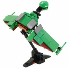 """Bird of Prey V2 - Custom LEGO Element Kit by ICHIBAN Toys. $17.99. Dimensions (LxWxH): 3 x 6 x 3.5"""" or 7.5 x 15 x 9cm. LEGO is a registered trademark of The LEGO Group which does not sponsor, authorize or endorse this product. Star Trek and related marks are trademarks of CBS Studios Inc. which does not sponsor, authorize or endorse this product.. You will receive ALL of the 55 BRAND-NEW parts needed. These parts are all brand-new official LEGO elements.. The wings spread horizo..."""