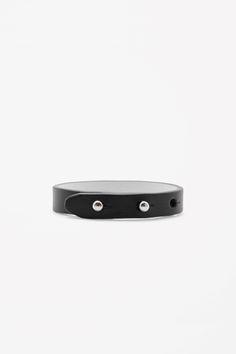 COS | Contrast leather bracelet