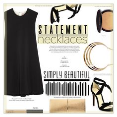 """""""Statement Necklace"""" by suzanne228 ❤ liked on Polyvore featuring Roksanda, Alexandre Birman, Nina Ricci, Laura Mercier, NARS Cosmetics and statementnecklaces"""