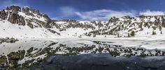 Hiked 18 miles in the snow to truly feel alone. Lake Solitude Grand Teton National Park Wyoming [OC] [11719 x 5024]