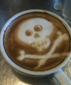 Although we don't do latté art at work, if we did this would be my signature.