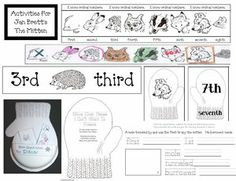Thanks to the adorable graphics available on Jan Brett's site: janbrett.com I was able to design this wonderful FREE packet with all sorts of activities to go with the story.