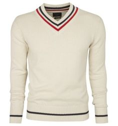 the perfect tennis sweater.... or actually, cricket jumper!