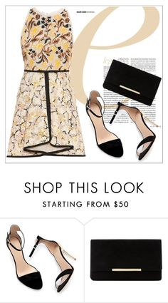 """""""Untitled #111"""" by chanlee-luv ❤ liked on Polyvore featuring Zara, Dune and Giambattista Valli"""