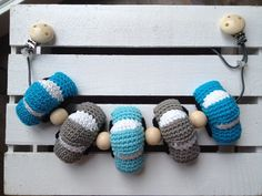 Crochet car carrier toy Gehaakte wagenspanner auto