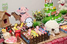 Festa infantil tema fazendinha, ovelhas