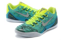 734f43101c40 Kobe 9 Low EM Easter White Lucid Green Metallic Silver Green 646701 300 Nike  Tennis