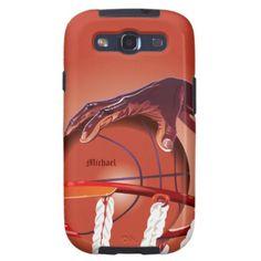 Basketball Slam Dunk Point Samsung S3 Case Samsung Galaxy SIII Covers