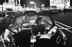 Louis Faurer Broadway Convertible, New York 1949 Famous Photographers, Street Photographers, Nocturne, Louis Faurer, Edward Steichen, Joy Ride, William Eggleston, City Scene, Museum Of Modern Art