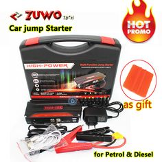 Best Mini Portable Car jump starter High Power starter battery Charger Engine Booster Emergency Power Bank car battery