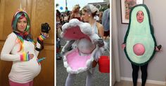 The best roundup of Halloween costumes for pregnancy. Over 60 ideas for maternity Halloween costumes. Save this for when you're pregnant! Costume Halloween, Halloween Diy, Maternity Halloween, Fart Costume, Funny Pregnant Halloween Costumes, Creative Costumes, Cool Costumes, Costume Ideas, Mermaid Parade