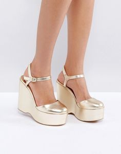 b4a691ba790 Get this Asos s wedges now! Click for more details. Worldwide shipping.  ASOS POLAR