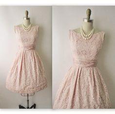 Vintage 1950s cocktail dress