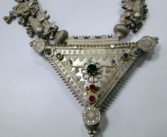 necklace  with silver by TRIBALEXPORT, $949.00