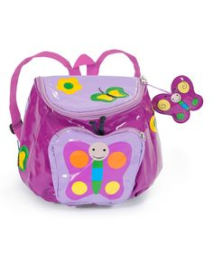 Look at this Purple Butterfly Backpack on #zulily today!