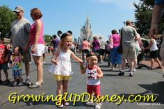 """WDW with Grandchildren: """"I wouldn't miss all the """"Firsts"""" for anything. We live about 600 miles from the girls so we already miss lots of """"firsts"""" and """"seconds"""" in their lives. I'll take what time I can get with them, and if a lot of it is experiencing """"Firsts"""" at WDW, I'll take it. I wouldn't miss it for anything. I don't mind sharing them with Mickey."""""""