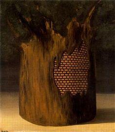 Threshold of forest - Рене Магритт