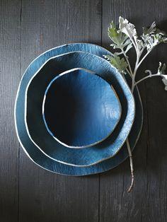 Elephant ceramics.com love the blueness of it all #ceramics #pottery #porcelain #陶磁器 #うつわ #焼きもの #作家もの