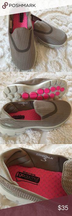 Brand New Skechers Slip On Shoes Super comfortable Skechers goga mat  technology slip on shoes.    Brand new size 5.5 women Skechers Shoes Athletic Shoes
