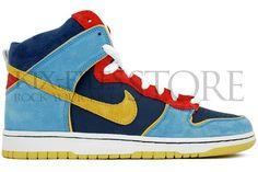 the best attitude 576c8 5bfa8 Nike Dunk High Pro SB Pacman (305050-471)