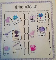 Literacy Centers for Kindergarten (and great for first grade too!)