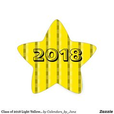 Class of 2023 Light Yellow Star Sticker by Janz - graduation stickers grad sticker idea unique customize diy Graduation Open Houses, College Graduation Gifts, College Gifts, Star Stickers, Cool Stickers, Custom Stickers, Graduation Stickers, Custom Shades, Presents For Her