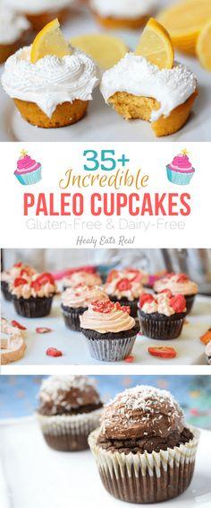 35+ Incredible Paleo Cupcakes (Gluten Free & Dairy Free)