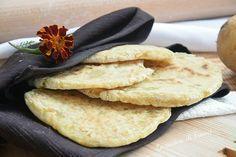 Pane di patate in padella senza glutine e lievito3