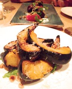 @littlebeet  My favorite was the roasted sliced squash, drizzled with olive oil and honey, then ....