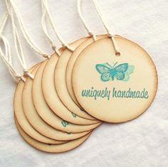 Uniquely Handmade Tags