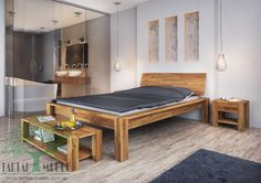 Ten model szczególnie często wybierany jest jako uzupełnienie nowoczesnego stylu. Jeżeli lubisz meble z charakterem to łóżko dębowe Aruba jest wyborem dla Ciebie.