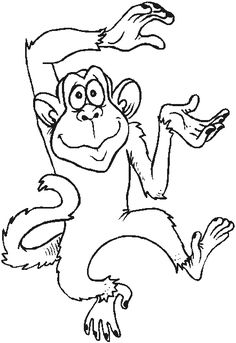 This is Gt Monkey Template To Colour-18111. You can download and print Gt Monkey Template To Colour-18111 using sidebar button. Happy Coloring!