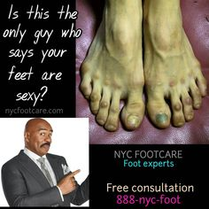 Want sexy feet? Call NYC FOOTCARE 888-nyc-foot / nycfootcare.com 212.385.2400 #NYC #pedicure #highheels #l4l #toes #makeup #manhattan #bronx #brooklyn #queens #fashion #fashionista #heels #ugly...