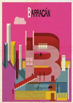 Federico Babina creates Archibet, an illustrated alphabet of architects