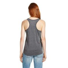 Women's Lift Pizza Every Day Chin Up Tank Top Charcoal Gray S - Chin Up Apparel