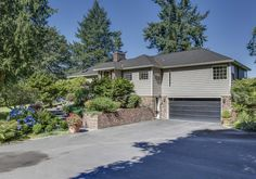 Luxurious mid century modern home on 10 landscaped acres for sale in Des Moines WA http:www.retrorealtygroup.com