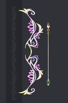 Lotus Flower- Bow and Arrow NOT FOR SELL! Belongs to --Black-Wren